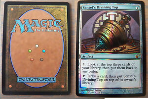 FOIL-Sensei-039-s-Divining-Top-From-the-Vault-Exiled