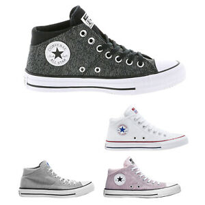 Details zu Converse Ctas Madison Mid Textile Casual Lace Up Sneakers Damen Trainer