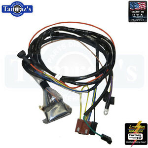 Pleasant 1967 Chevelle El Camino Engine Wiring Harness V8 W Warning Lights Wiring 101 Photwellnesstrialsorg