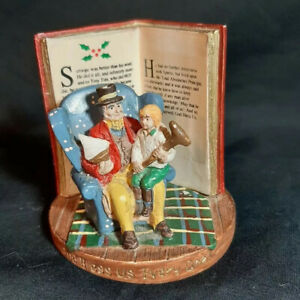 Russ-Berrie-A-Christmas-Carol-Figurine-13980-God-Bless-Us-Every-One-Scrooge-Tim
