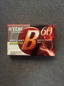 TDK-Cassette-Tape-Audio-Blank-BRAND-NEW-SEALED-AU-STOCK