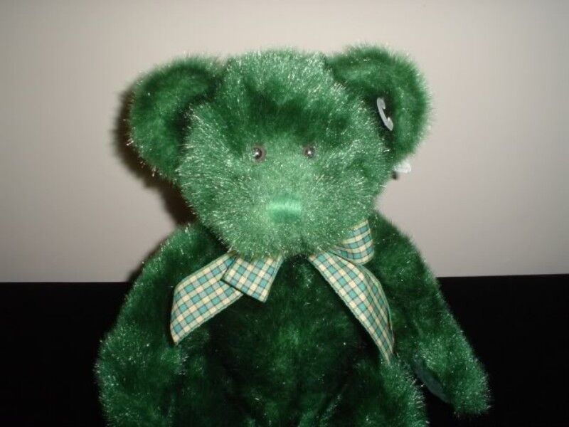 Russ Berrie Dublin Bear Handmade Plush 4972 Tags