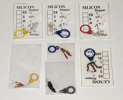 105 STÜCK GUMMISTOPPER STOPPER /Silicon und Gummistopper in verschiedenen Größen