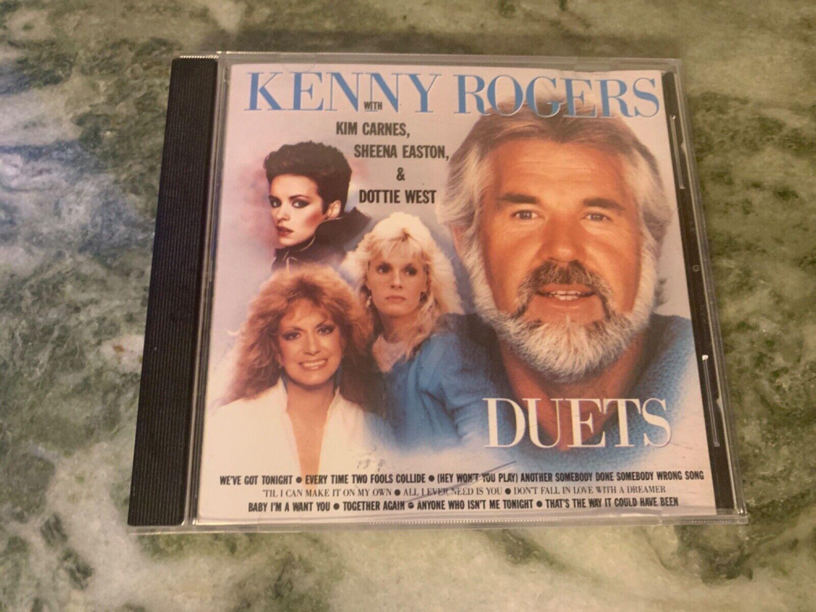 Kenny Rogers Duets Oop Cd Kim Carnes Dottie West Sheena Easton Made In Usa For Sale Online