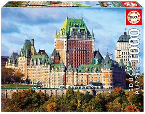 Puzzle-1000-piezas-Castillo-de-Frontenac-Canada-Educa-17107-jigsaw