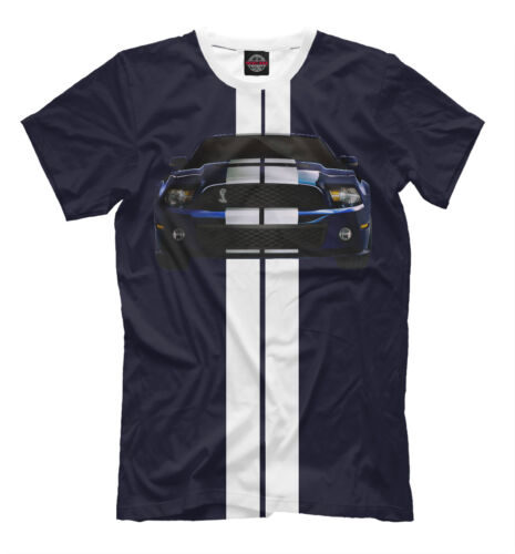 Ford Mustang Shelby GT500 t-shirt sports car print legendary USA car tee