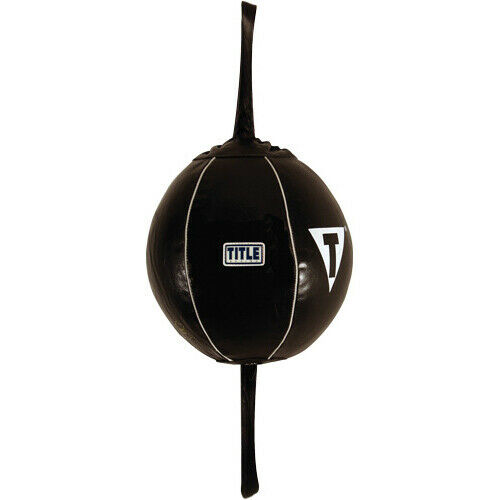 Le Boxing Leather Double End Bag