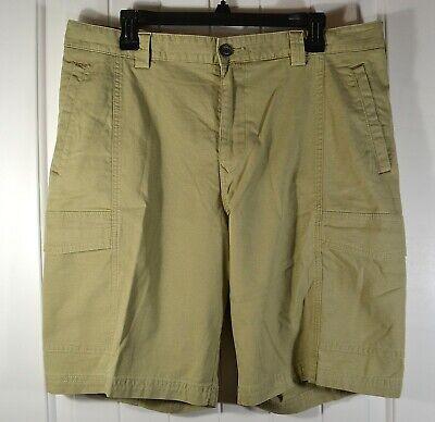 Tommy Bahama Men/'s Key Isles Cargo Shorts T818226 Black Size 38
