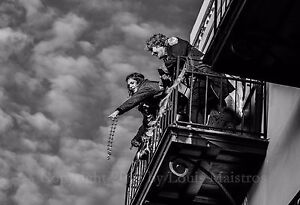 BALCONY-SCENE-Mardi-Gras-Day-NEW-ORLEANS-13x19-034-SIGNED-PRINT-by-Louis-Maistros