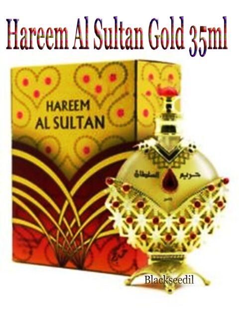 Hareem Al Sultan Gold 35ml Perfume Oil by Khadlaj Perfumes
