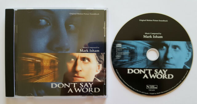 ⭐⭐⭐⭐ Don`t Say A Word ⭐⭐⭐ Orig. Motion Picture Soundtrack⭐⭐⭐ 8 Track CD 2001⭐⭐⭐⭐