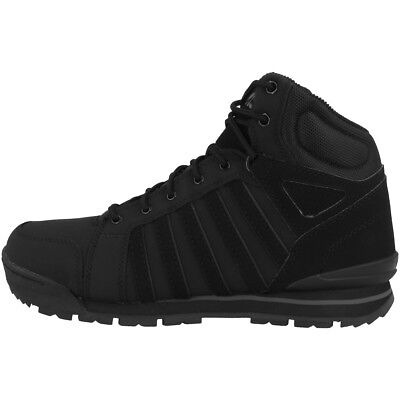Ehrlich K-swiss Norfolk Sc Schuhe Herren Boots High Top Sneaker Black Charcoal 05677-022