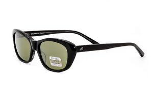 Serengeti-Sunglasses-Bagheria-Shiny-Black-Polarized-555nm-7787-AUTHORIZED-DEALER
