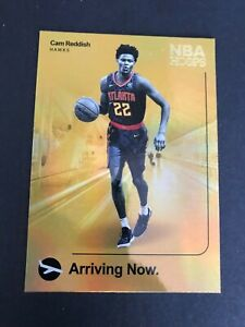 2019-2020-PANINI-NBA-HOOPS-GOLD-HOLOFOIL-CAM-REDDISH-ARRIVING-NOW-ROOKIE