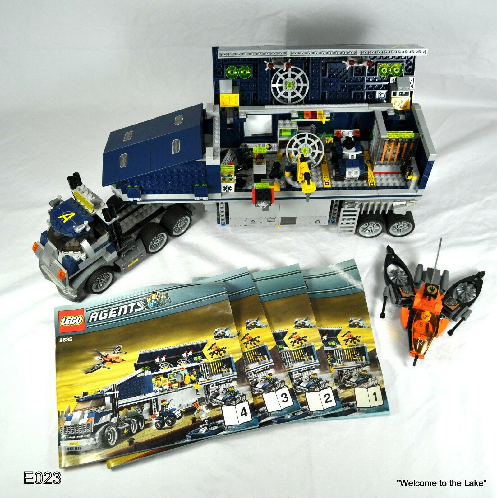 LEGO, AGENTS MOBILE COMMAND CENTER,  8635