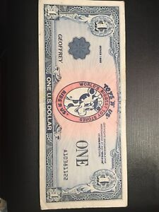 Details About 1 Vintage 1988 Series Toys R Us Gift Certificate Money Geoffrey Dollars