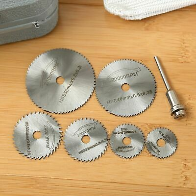 Details about  /60mm Metal Saw Cutting Blades Disc Circular Cutters Rod High Speed Steel Tool