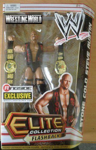 Mattel WWE esclusivo Stone Cold Steve Austin TEXAS Serpente a Sonagli azione cifra