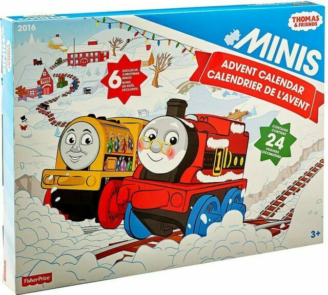 Nouveau 2018 6 Exclusive Thomas /& Friends Minis 2017 ADVENT CALENDAR 24 trains