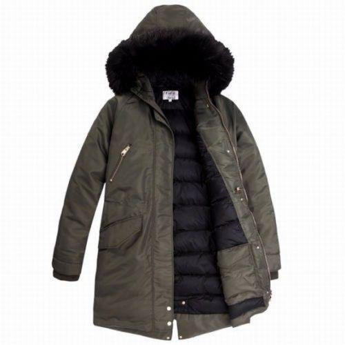 d0dcaca12 BNWT TOMMY Hilfiger X GIGI Hadid Down Parka jacket size L uk 14 RRP £330