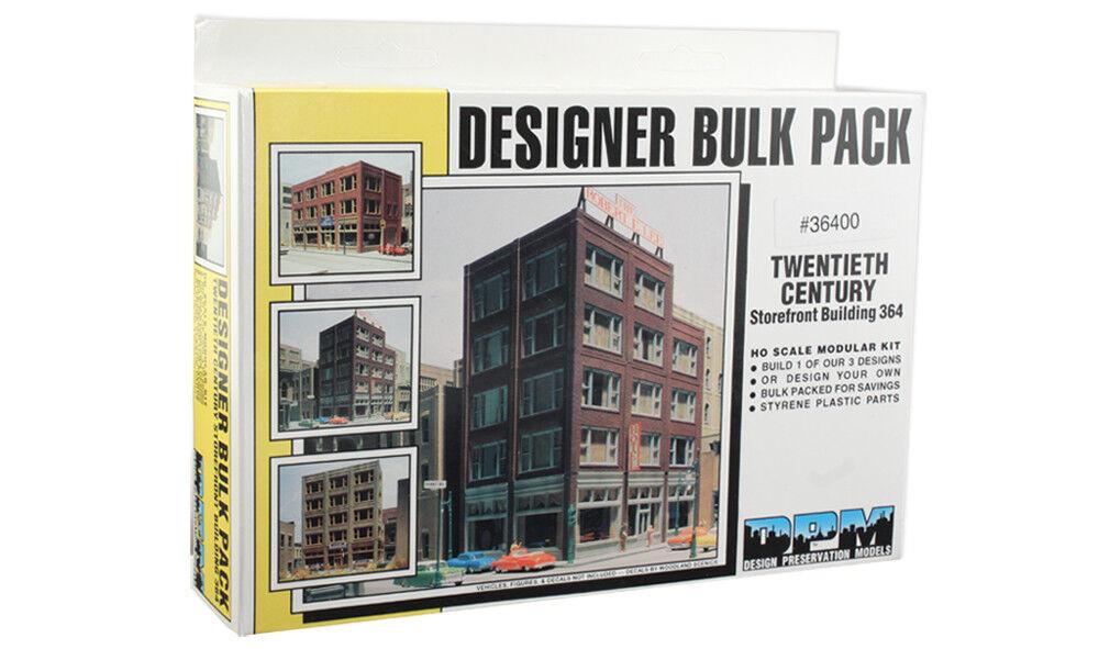 DPM WOOLDAND HO 20th Century Storefront Plastic Building Model Kit FREE SHIP