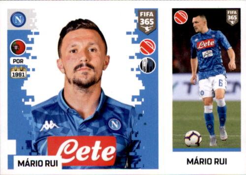 Mario Rui Sticker 245 a//b Panini FIFA365 2019 SSC Neapel