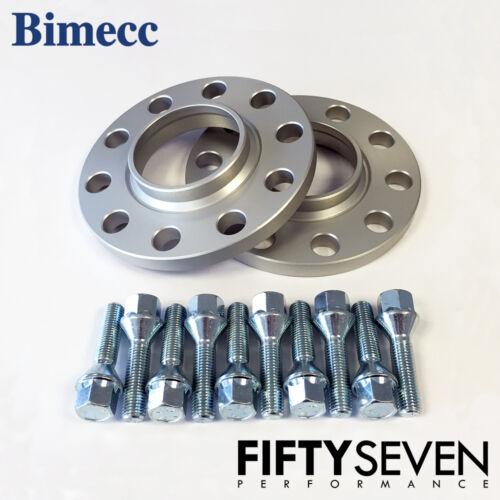 Bimecc 15mm Hubcentric Wheel Spacers /& Wheel Bolts BMW 1 Series F20