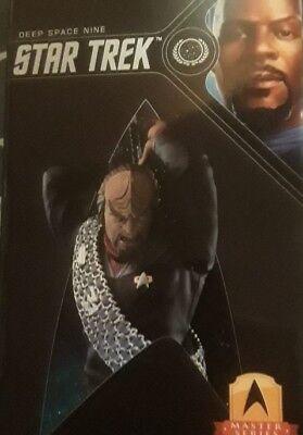 Commander WORF Mini Master Figure QMx TNG Star Trek Deep Space Nine DS9 Lt