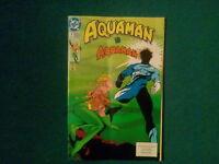 AQUAMAN VS AQUAMAN DC COMIC ISSUE 7 FROM JUNE 1992