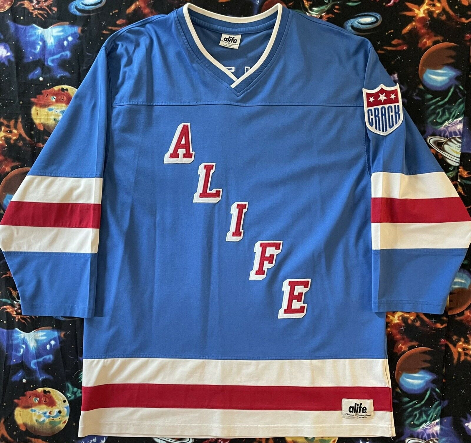 Rare Alife HomeTeam Forest Hills DR 2014 Cover Hockey Jersey
