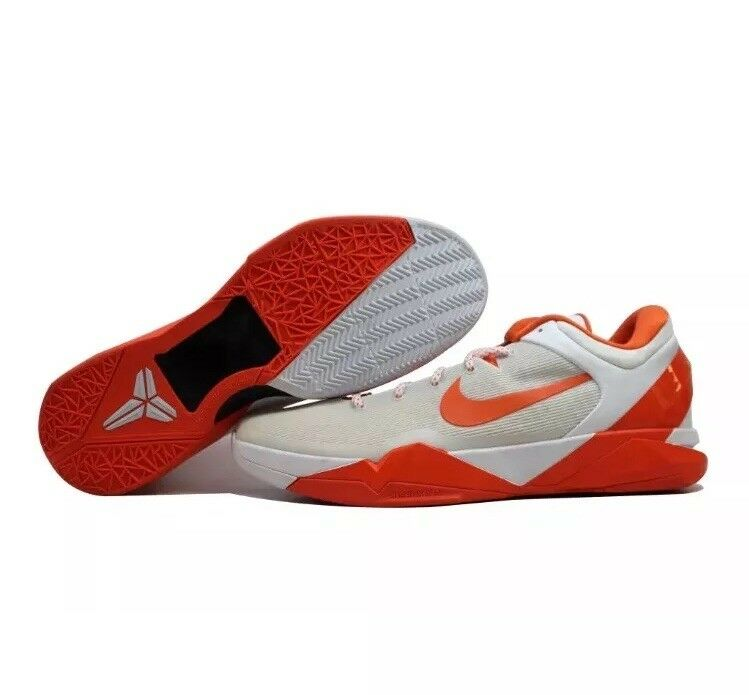 Nike Zoom Kobe VII 7 System White/Orange Blaze Kobe Bryant 517359-107 Price reduction