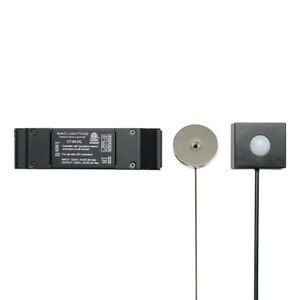 WAC Lighting Touch On/Off and Occupancy Sensor Controller, Black - CT-6A-R2