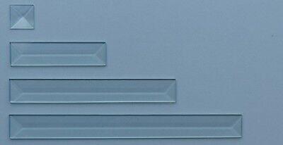 25 mm Facette spitz PB-16 klar 25x152 mm Pencil Bevel
