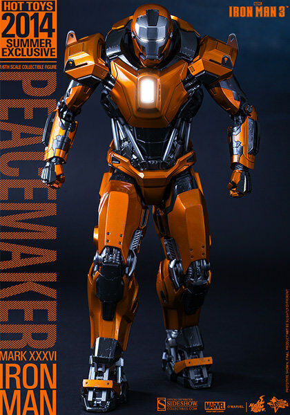 Iron Man 3 13 Inch Figure MMS - Iron Man Mark XXXVI - Peacemaker Hot Toys
