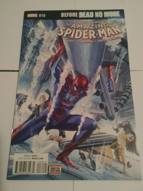 Amazing Spider-Man #16 1st Print Before Dead No More Marvel 2016
