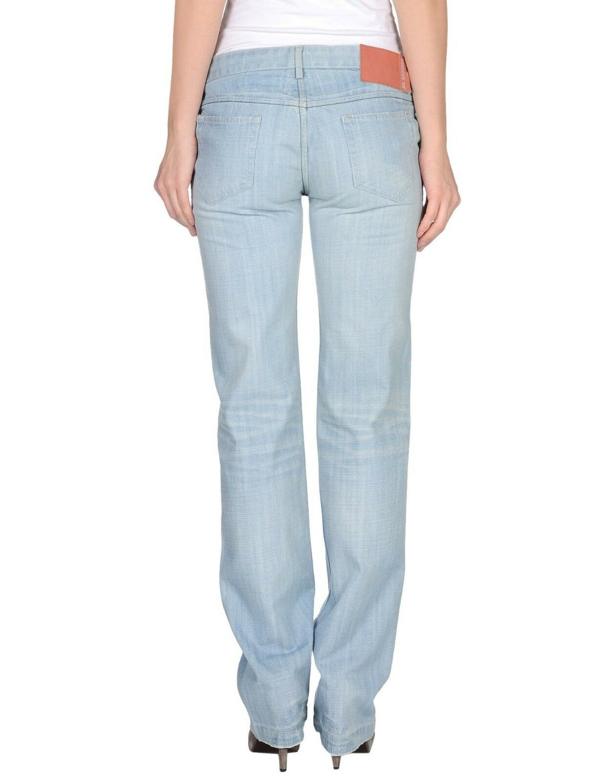 Jil Sander Limited Line Japanese Made Light bluee Women's Jeans - W34 L33