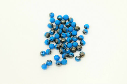 creation bijoux bracelet 10 perle Bleu Brillant 10mm Perle magique colier