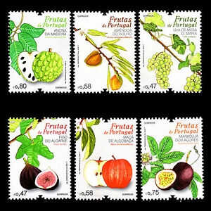 Portugal-2017-Fruits-of-Portugal-Foot-MNH
