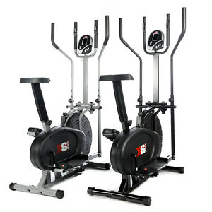 PRO-CROSS-TRAINER-2-in-1-EXERCISE-BIKE-CARDIO-FITNESS-WORKOUT-MACHINE
