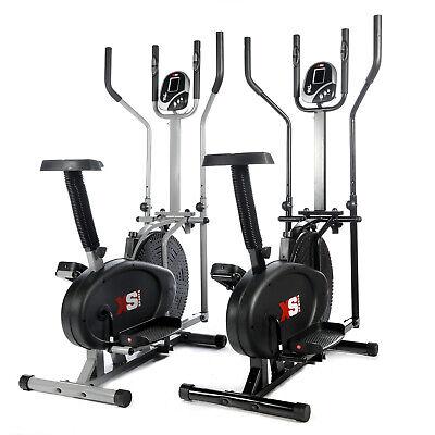 Der GüNstigste Preis Pro Cross Trainer - 2 In 1- Exercise Bike - Cardio Fitness Workout Machine