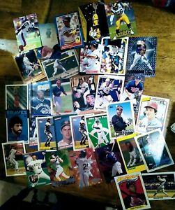 SPORTS CARDS LOT! 50 CARDS!! UNSEARCHED FREE SHIPPING VERY WELL KEPT ALL SPORTS