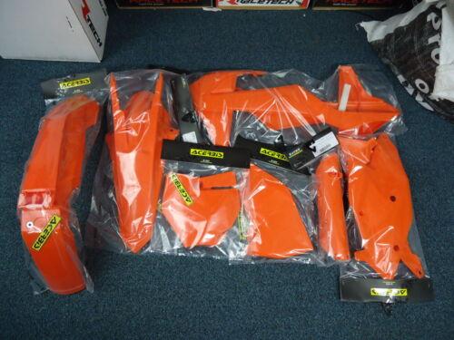 New Acerbis Plastic Kit MX KTM SX SXF 125 250 350 450 16 17 18 All Orange