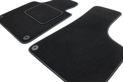 Premium Fußmatten für Fiat Qubo ab Bj 2008