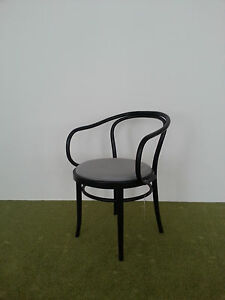 Details About Original Michael Thonet Armchair Number 30 With Upholstered  Seat