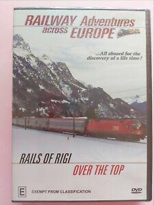 Railway Adventures across Europe- Rails of Rigi Over the Top (Multi Region DVD)