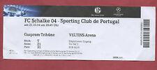 Orig.Ticket   Champions League 14/15   FC SCHALKE 04 - SPORTING LISSABON  !!