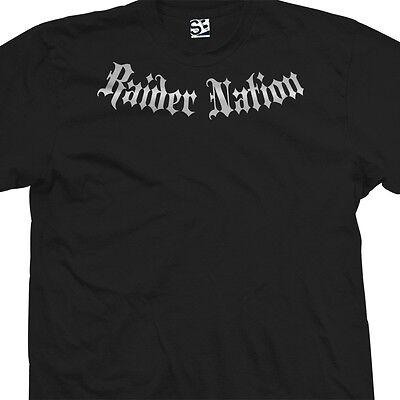 Raider Nation Addict T-Shirt - Raiders Addiction Oakland - All Sizes & Colors
