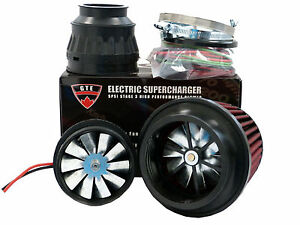 Image Is Loading 5psi Electric Supercharger Turbo Add Horse Torque Intake