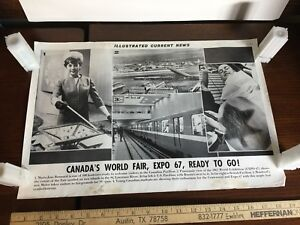 Image Is Loading Illustrated Current News Photo Canada 039 S EXPO