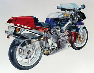 Image Is Loading 1987 HONDA VFR 750R RC30 CUTAWAY VINTAGE MOTORCYCLE